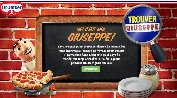 Concours Trouvez Giuseppe!