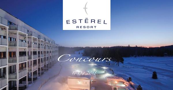 Concours Gagnez une escapade exceptionnelle à l'Esterel Resort!