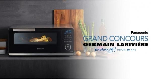 Concours Gagnez un four à induction Panasonic d'une valeur de 549$!