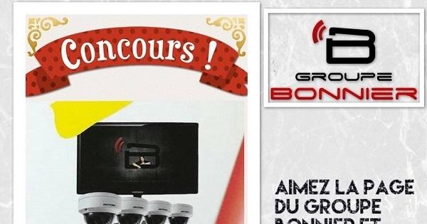 Concours Gagnez un système de caméras surveillance offert par le Groupe Bonnier!