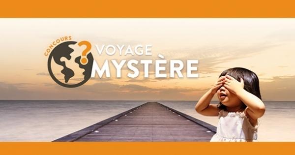 Concours Gagnez un voyage dans une destination mystère!