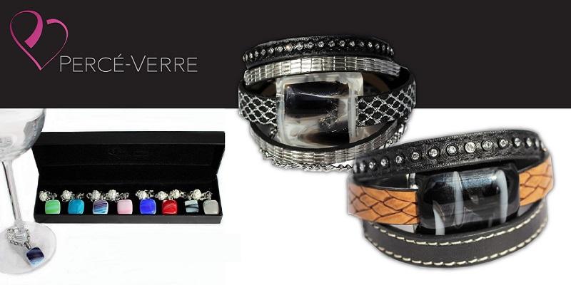 Concours Gagnez un superbe ensemble de bijoux en verre de chez Percé-Verre!