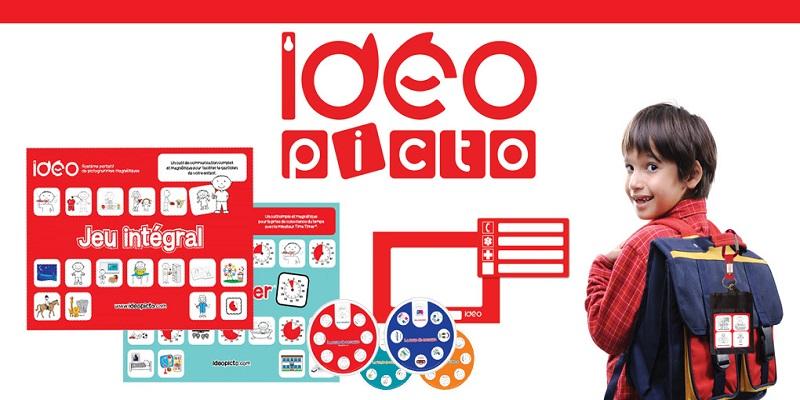 Concours Gagnez un ensemble d'apprentissage imagé pour enfants d'IDÉOpicto!