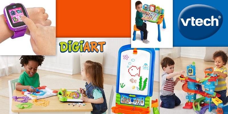 Concours Gagnez des jouets interactifs VTech pour enfants!