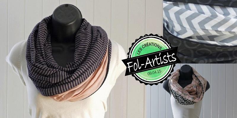 Concours Gagnez 3 foulards multifonctions faits au Québec par Fol-Artists!