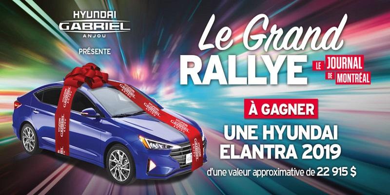 Concours Gagnez une Hyundai Elantra 2019 d'une valeur de 22 915$!