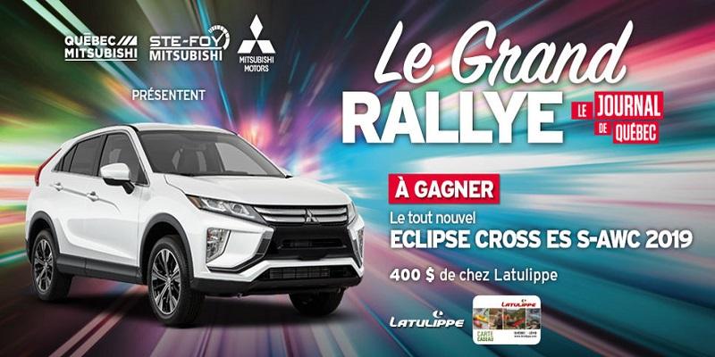 Concours Gagnez le tout nouvel Eclipse Cross ES S-AWC 2019 de Mitsubishi!