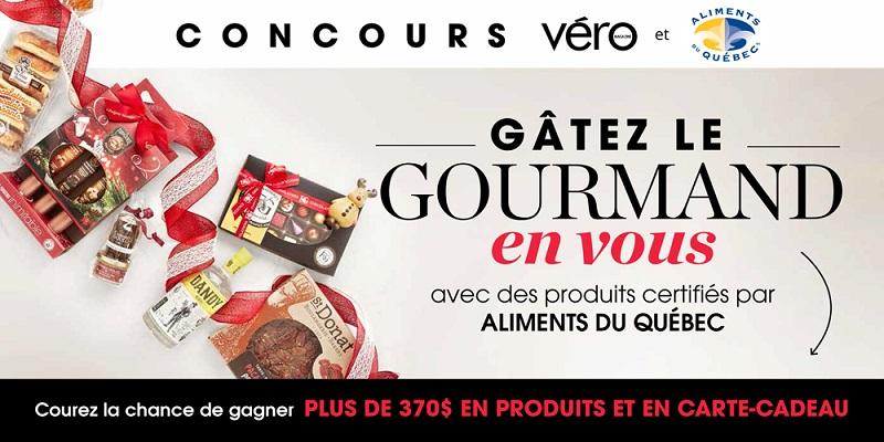Concours GÂTEZ LE GOURMAND EN VOUS!