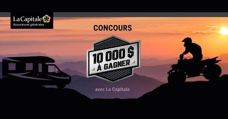 Concours GAGNEZ 10 000 $ POUR VOUS OFFRIR LE VÉHICULE DE LOISIRS DE VOS RÊVES!