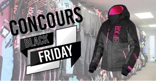 Concours Gagnez un manteau FXR Homme ou Femme à l'occasion du Black Friday!