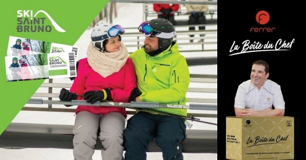 Concours Gagnez 2 billets de ski et 1 Boîte du Chef!