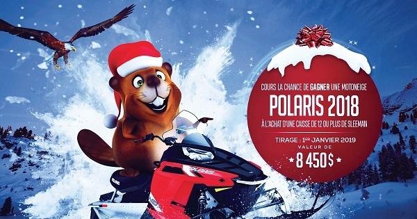 Concours Gagnez une motoneige Polaris INDY 550 d'une valeur de 8 450$!