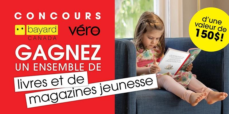 Concours GAGNEZ UN ENSEMBLE DE LIVRES ET DE MAGAZINES BAYARD JEUNESSE!