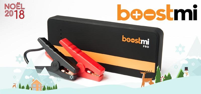 Concours Gagnez un Boostmi Pro et Boostmi Compact pour survolter votre voiture et recharger votre téléphone!