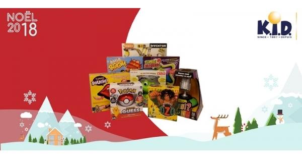 Concours Gagnez l'un des 2 ensembles de jeux interactifs pour amuser toute la famille!
