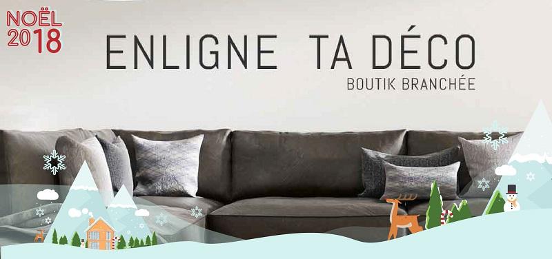 Concours Gagnez un jeté, un coussin et un porte lampion grâce à Enligne ta Déco!
