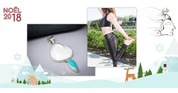 Concours Gagnez un pendentif serti de perles et un pantalon de yoga grâce à Orama Nidhi!