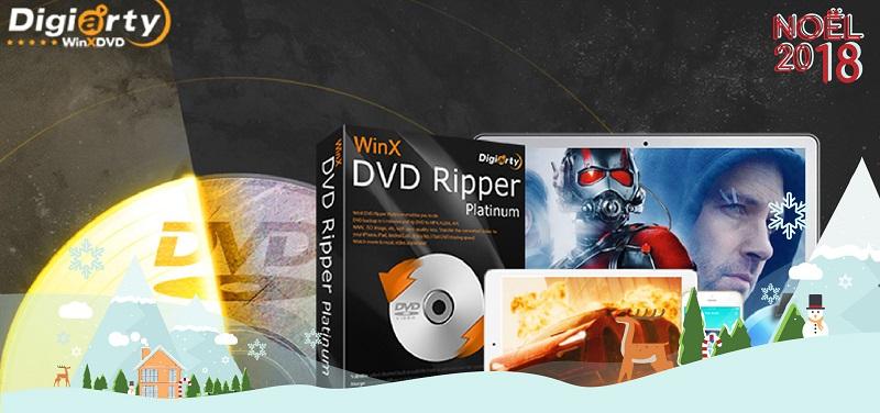 Concours Gagnez le logiciel WinX DVD Ripper Platinum pour visionner vos DVD sur tous vos appareils!