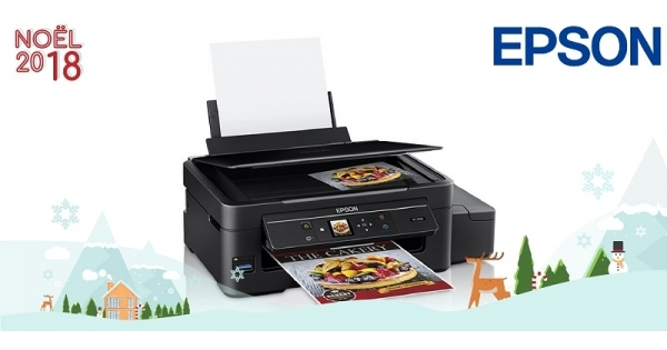 Concours Gagnez une imprimante Epson sans fil et multifonction qui ne nécessite aucune cartouche d'encre