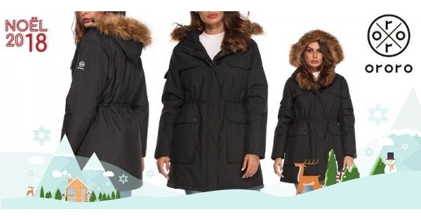 Concours Gagnez un manteau d'hiver chauffant Ororo pour femme!