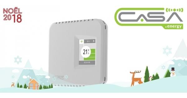 Concours Gagnez un thermostat intelligent de l'entreprise québécoise CaSA!