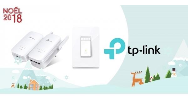 Concours Gagnez un prolongateur Wi-Fi et un gradateur d'éclairage TP-Link!