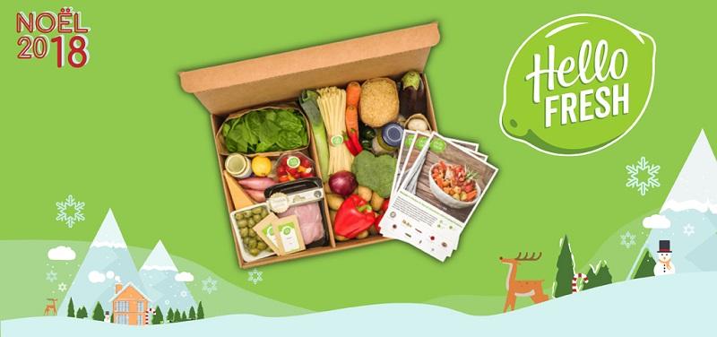 Concours Gagnez l'une des deux cartes cadeaux de 129,99$ pour des repas prêts à cuisiner HelloFresh!