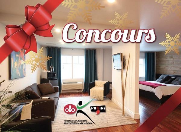 Concours Gagnez un forfait romantique à l'Auberge Gouverneur Shawinigan!