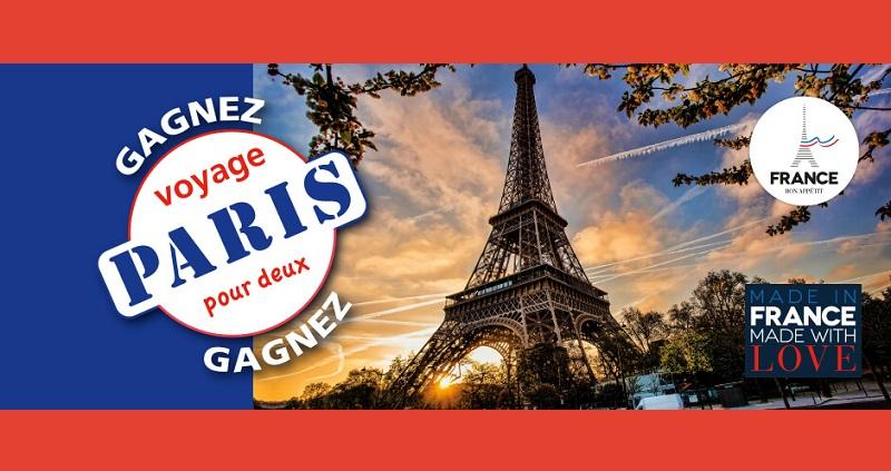 Concours Gagnez un voyage pour deux à Paris!