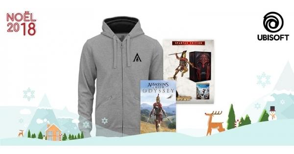 Concours Gagnez un superbe ensemble de produits Assassin's Creed Odyssey!