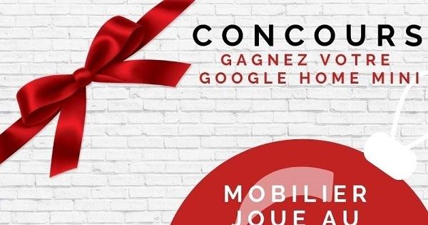 Concours Gagnez votre Google home mini!