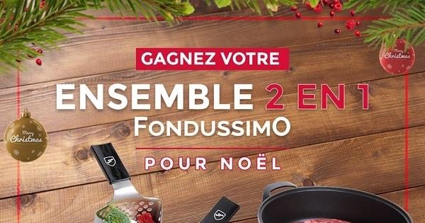 Concours Gagnez un ensemble Fondussimo 2 en 1!