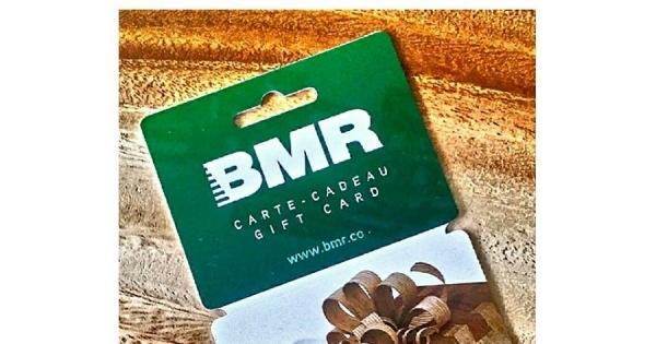 Concours Gagnez une carte cadeau BMR d'une valeur de 75.00$!
