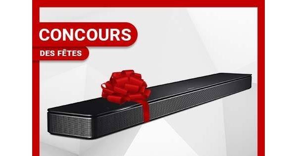 Concours Gagnez une barre de son Bose Soundbar 500 d'une valeur de 700$!
