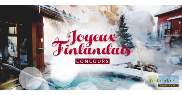 Concours Gagnez un des 2 forfaits Prestige au Spa & Hôtel Le Finlandais pour 2 personnes!