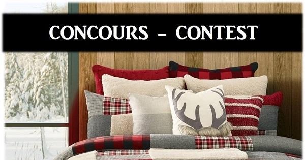 Concours Gagnez votre ensemble de courtepointe Buck offert par Brunelli!