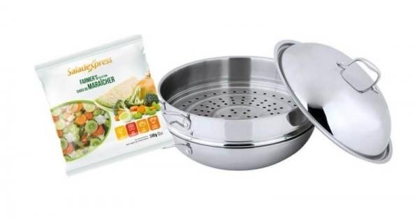 Concours Gagnez un magnifique wok avec son panier cuit-vapeur!