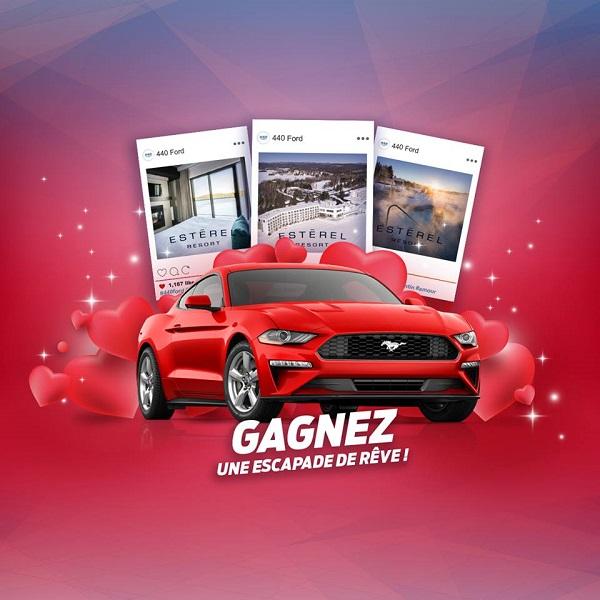 Concours GAGNEZ UNE ESCAPADE DE RÊVE!