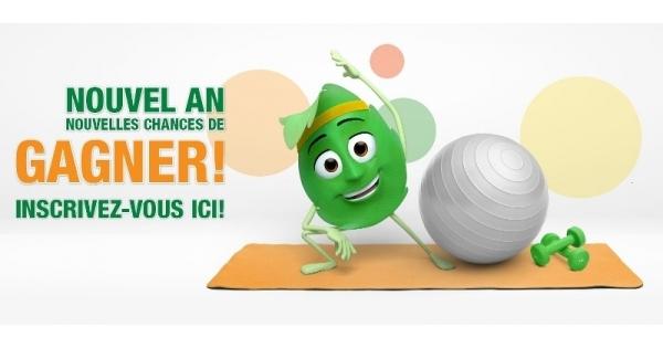 Concours Gagnez l'un des 4 prix pour vous aider à amorcer votre meilleure année à vie!