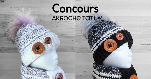Concours Gagnez un Kit rustik prêt-à-porter ou prêt-à-crocheter offert par Akroche Tatuk!