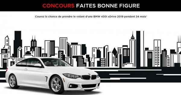 Concours Prenez le volant d'une BMW 430i xDrive 2019 pendant 24 mois!