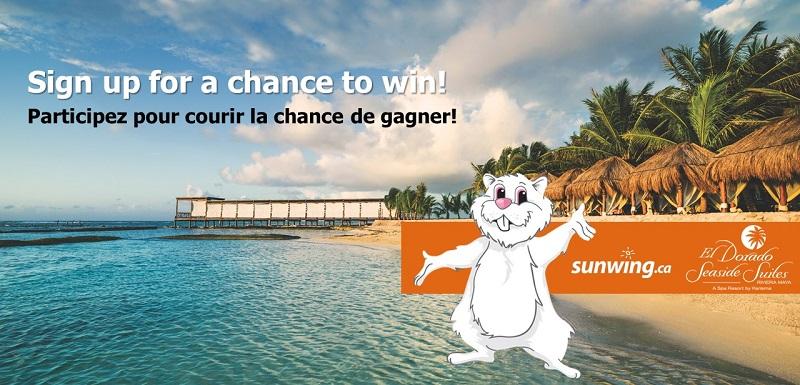 Concours Gagnez un voyage à Riviera Maya!