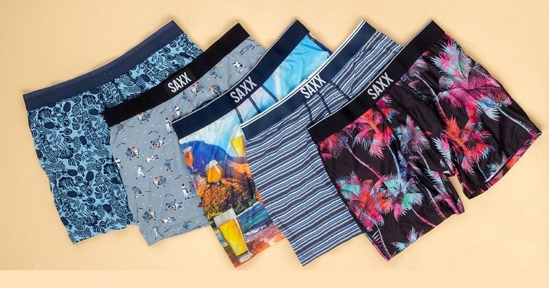 Concours Gagnez un des 3 ensembles comprenant: 3 sous-vêtements SAXX ainsi qu'une carte-cadeau Ernest d'une valeur de 100$!