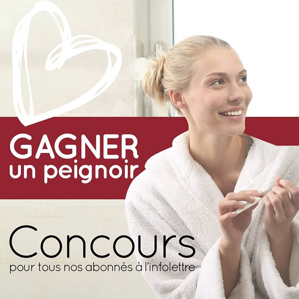 Concours Gagnez un confortable peignoir d'une valeur de 99,99$!