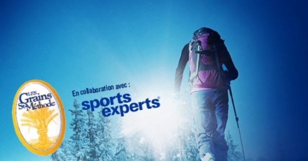 Concours Gagnez l'une des dix cartes-cadeaux Sports Experts de 1 000$!