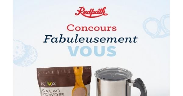 Concours Gagnez un mousseur à lait électrique, un sac de poudre de cacao et un ensemble de prix bec sucré!