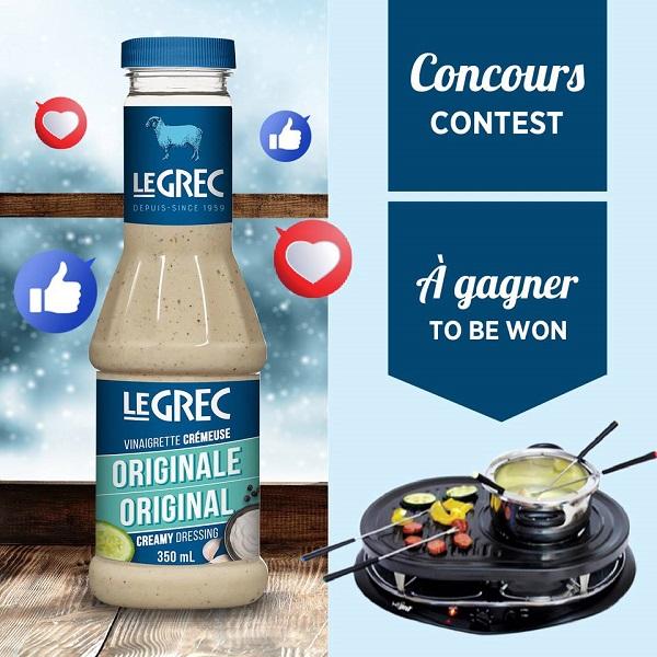 Concours Gagnez un four qui combine fondue et raclette!