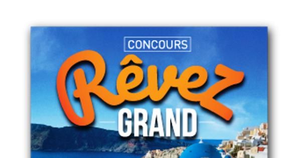 Concours Gagnez l'un des 10 lots de 15 000 $ en argent!