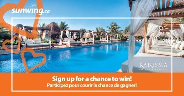 Concours Gagnez des vacances sur la Riviera Maya!
