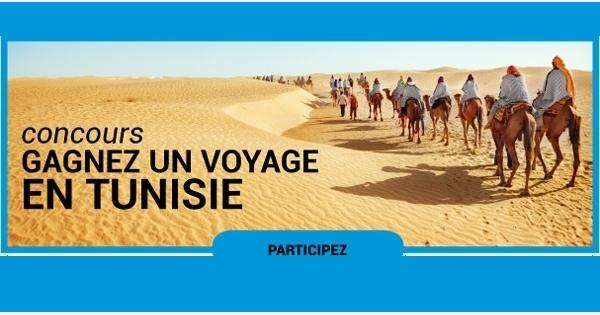 Concours Gagnez un voyage pour 2 personnes en Tunisie!